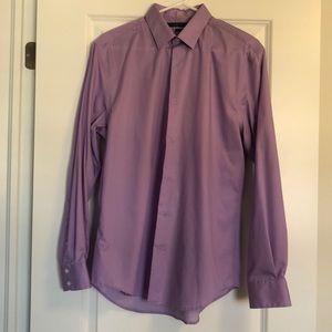 BOGO ☺️ Perry Ellis Purple dress shirt